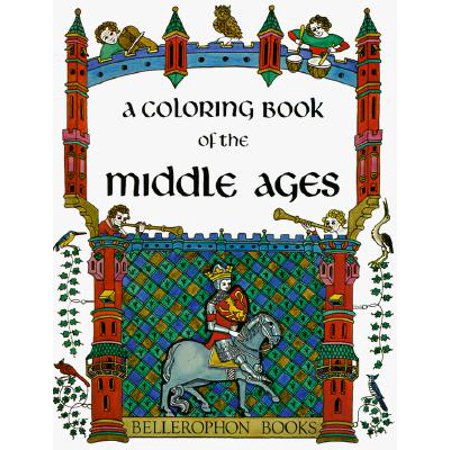 A Coloring Book of the Middle Ages - Middle School Halloween Coloring Pages