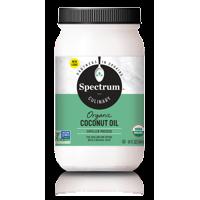 Spectrum Culinary Organic Refined Coconut Oil, 14 Ounce Jar