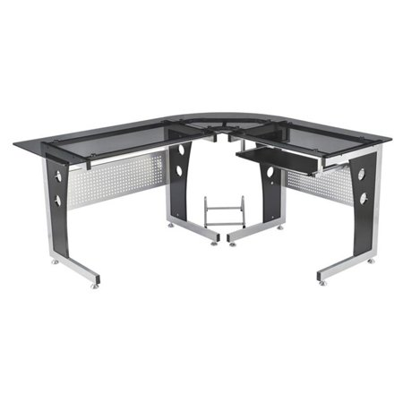 ho secretary maple table homcom workstation executive student with natural hutch writing honey desk computer image corner chairs home office furniture solid