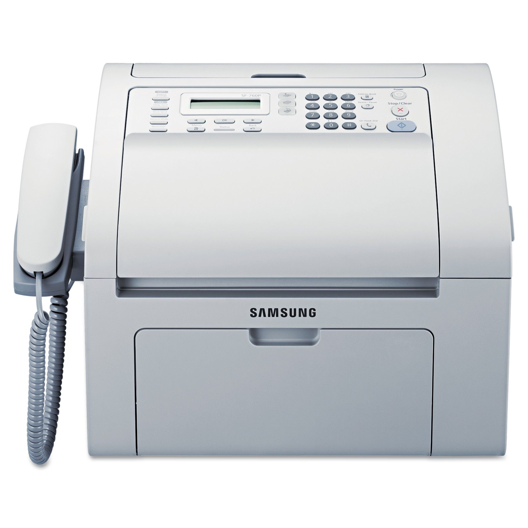 Samsung SF-760P Multifunction Laser Printer, Copy/Fax/Print/Scan