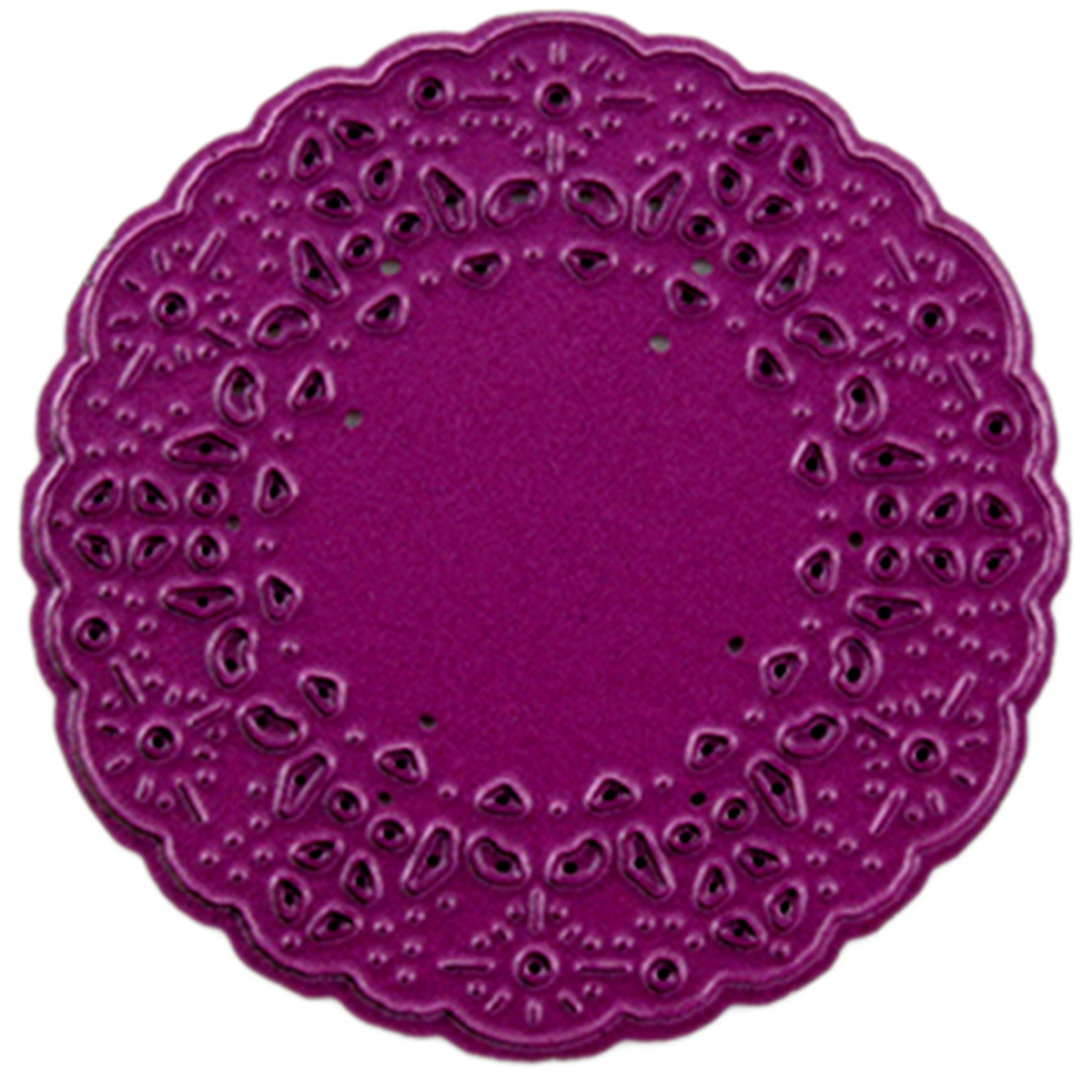 "Cheery Lynn Designs Doily Die-French Pastry Tiny, 2""X2"""