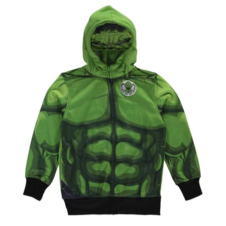 "Avengers Big Boys' ""Hulk Mask"" Hoodie (Sizes 8 - 20)"