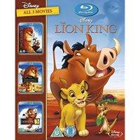 The Lion King Trilogy 1-3 [Blu-ray] 1 2 3 Box Set [UK Import]