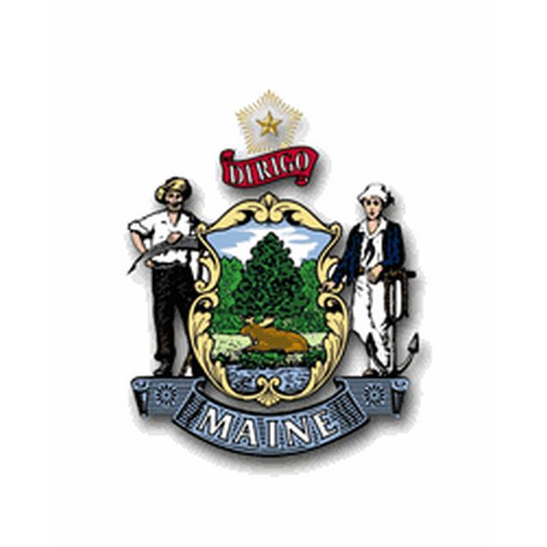 3 8 Inch Maine State Seal Vinyl Transfer Decal Walmart Com Walmart Com