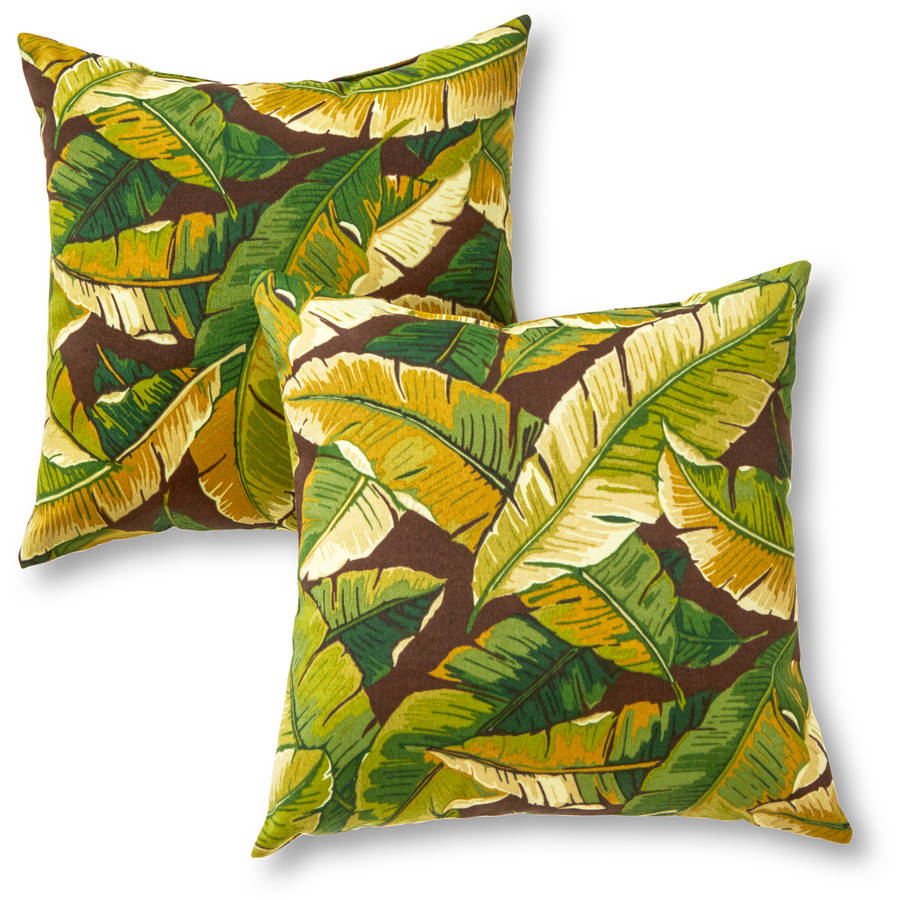 Greendale Home Fashions Outdoor Accent Pillows, Set of 2, Sunbeam