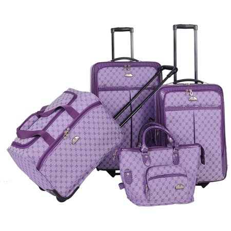 AF 4P Signature LuggageSet Purple
