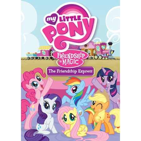 my little pony friendship is magic the friendship express dvd