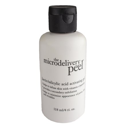 Philosophy The Microdelivery Peel Step 2: Lactic/Salicylic Acid Activating Gel, 118ml/4oz