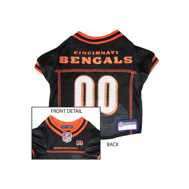 Pets First Cincinnati Bengals NFL Dog Jersey - Large