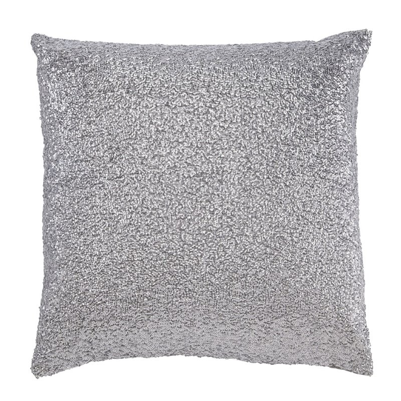 Ashley Renegade Throw Pillow in Silver by Ashley Furniture
