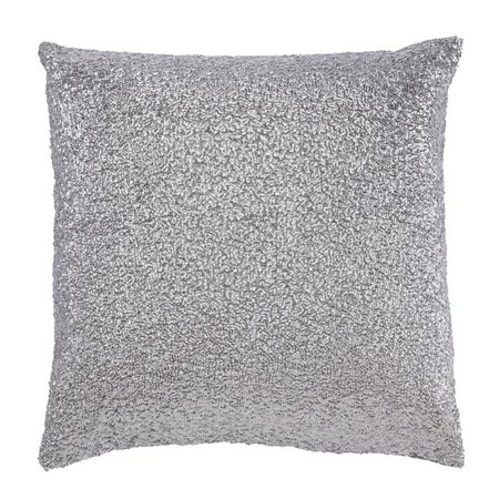 ashley renegade throw pillow in silver. Black Bedroom Furniture Sets. Home Design Ideas