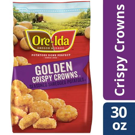 Ore-Ida Golden Crispy Crowns, 30 oz Bag