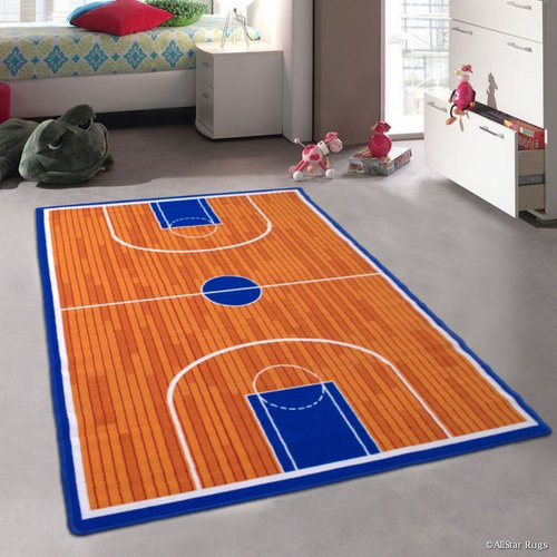 Zoomie Kids Angelo Brown Area Rug