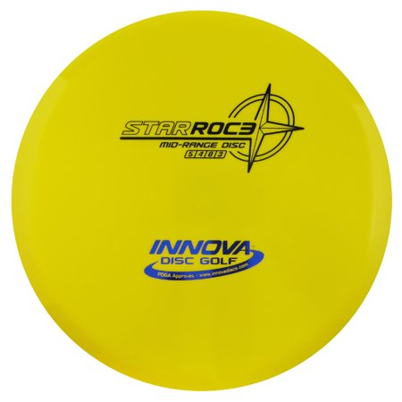 Innova Star Roc3 178-180g Midrange Golf Disc [Colors may vary] - 178-180g