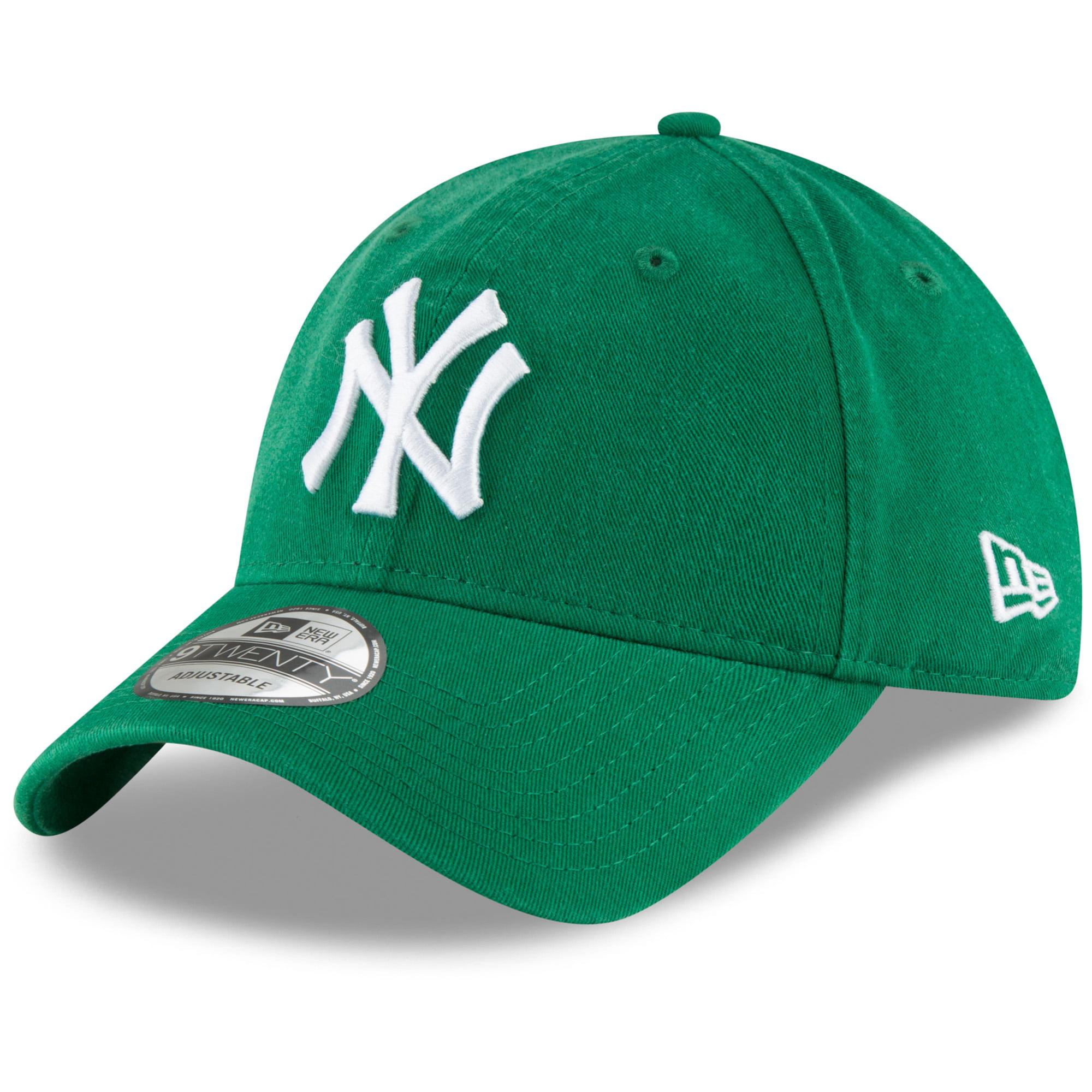 New York Yankees New Era Core Classic Secondary 9TWENTY Adjustable Hat - Kelly Green - OSFA