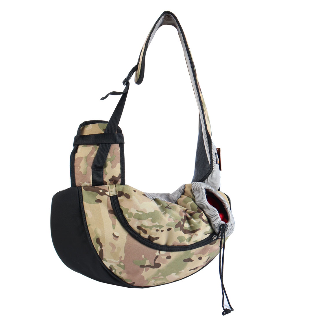 Onding Authorized Pet Dog Carrier Single Shoulder Backpack Army Green Camo - image 8 of 8