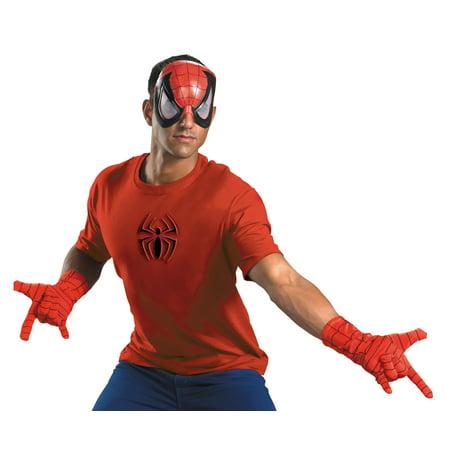 Spiderman Adult Halloween Costume - One Size - Halloween Spider Nails