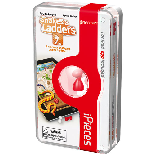 iPieces Snakes  and  Ladders Game