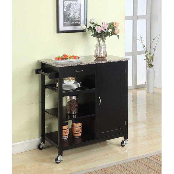 Walmart Kitchen Cart: K & B Furniture Y05 Kitchen Island Cart