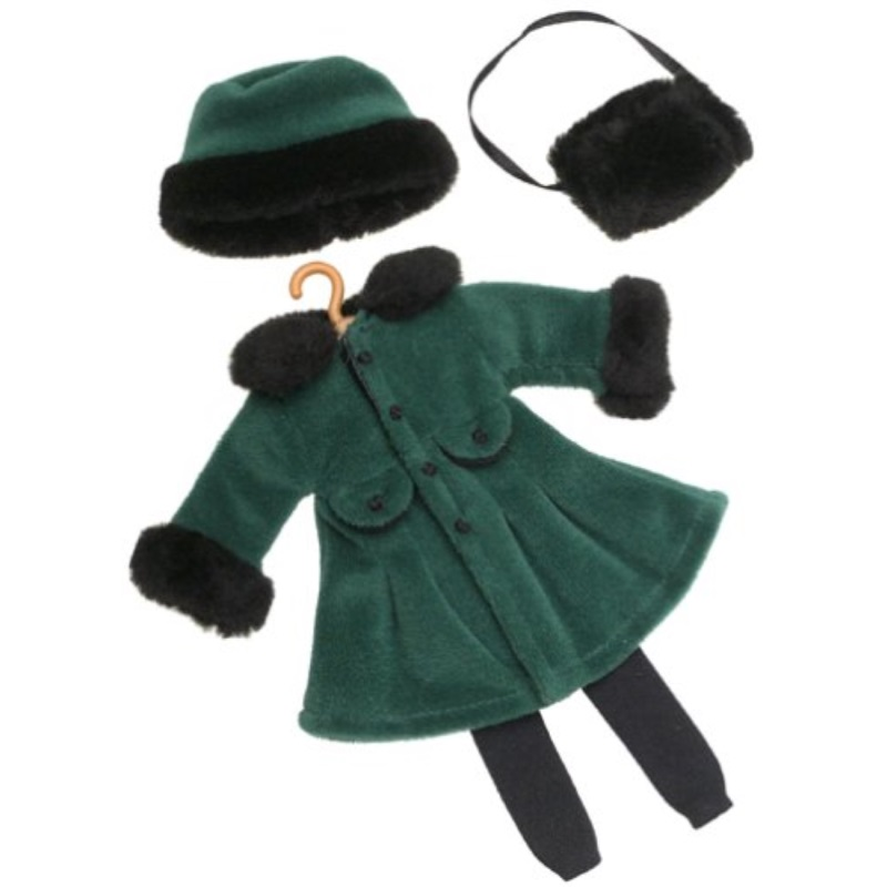 Madeline Doll Coat Muff Clothes Outfit Rare 2002 by