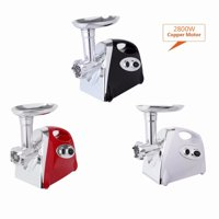 2800W Electric Meat Grinder Sausage Stuffer Meat Mincer With Handle