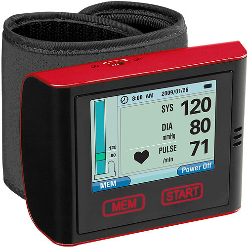 Veridian Health Automatic Talking Wrist Blood Pressure Monitor with Advanced Digital Display
