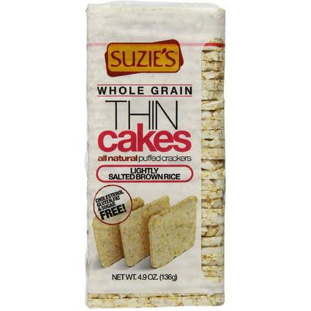 Suzie S Thin Cakes Corn