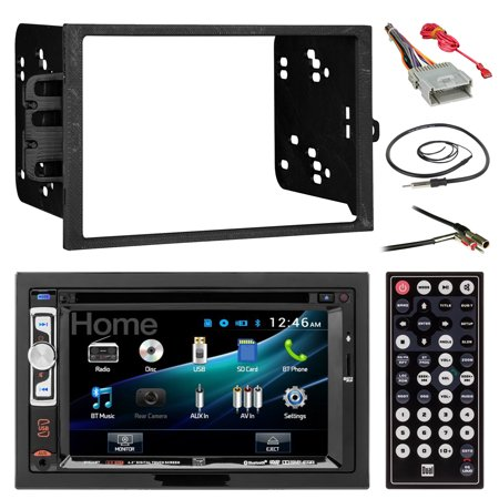 dual dv526bt 6 2 double din cd dvd bluetooth car stereo. Black Bedroom Furniture Sets. Home Design Ideas