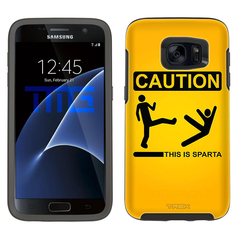 SKIN DECAL FOR OtterBox Symmetry Samsung Galaxy S7 Case - Caution this is Sparta DECAL, NOT A CASE