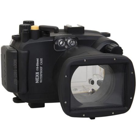 Polaroid Waterproof Housing Case For The Sony NEX 6 Camera with a 18-55mm Lens