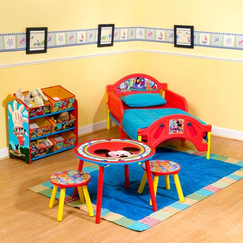 mickey mouse clubhouse bedroom mickey mouse clubhouse room in a box walmart 16187