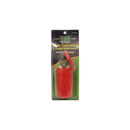 Large Tube (Hard Core Hunting Tube Container Large Scent Wick All-In-One Transporter,)