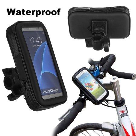 Waterproof Motorcycle Bike Bicycle Handlebar Mount Holder Case For