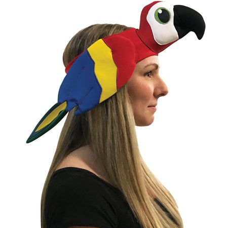 Parrot Headband Adult Halloween Accessory - Parrot Costumes For Adults