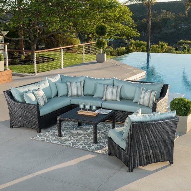 Rst Outdoor Bliss 6 Piece Corner, Smart Living 6 Piece Patio Set