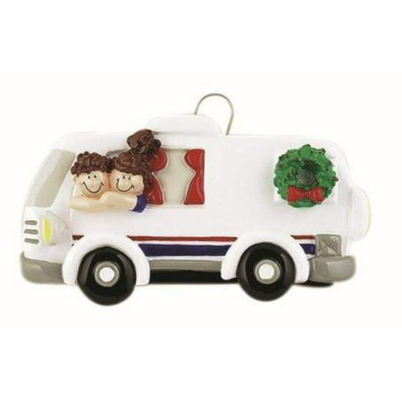 - RV Couple Personalized Christmas Tree Ornament DO-IT-YOURSELF