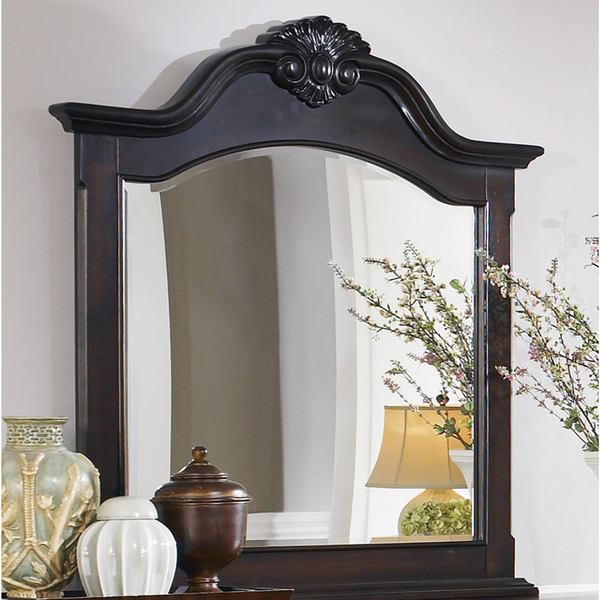 """Coaster Company Cambridge Dresser Mirror, Cappuccino 45""""x39"""""""