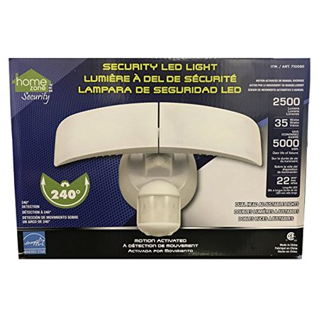 Home Zone Motion Activated LED Security Light - 2500 Lumens 35 Watts