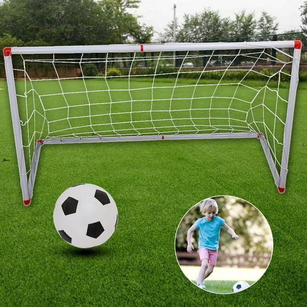 LYUMO Indoor Outdoor Mini Children Football Soccer Goal ...