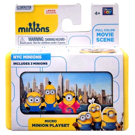 Despicable Me Minions Movie NYC Minions Micro - Minion Movie Characters