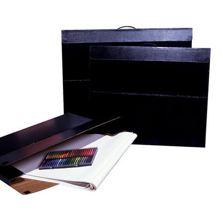 flipside velcro light weight water retardant art portfolio case to