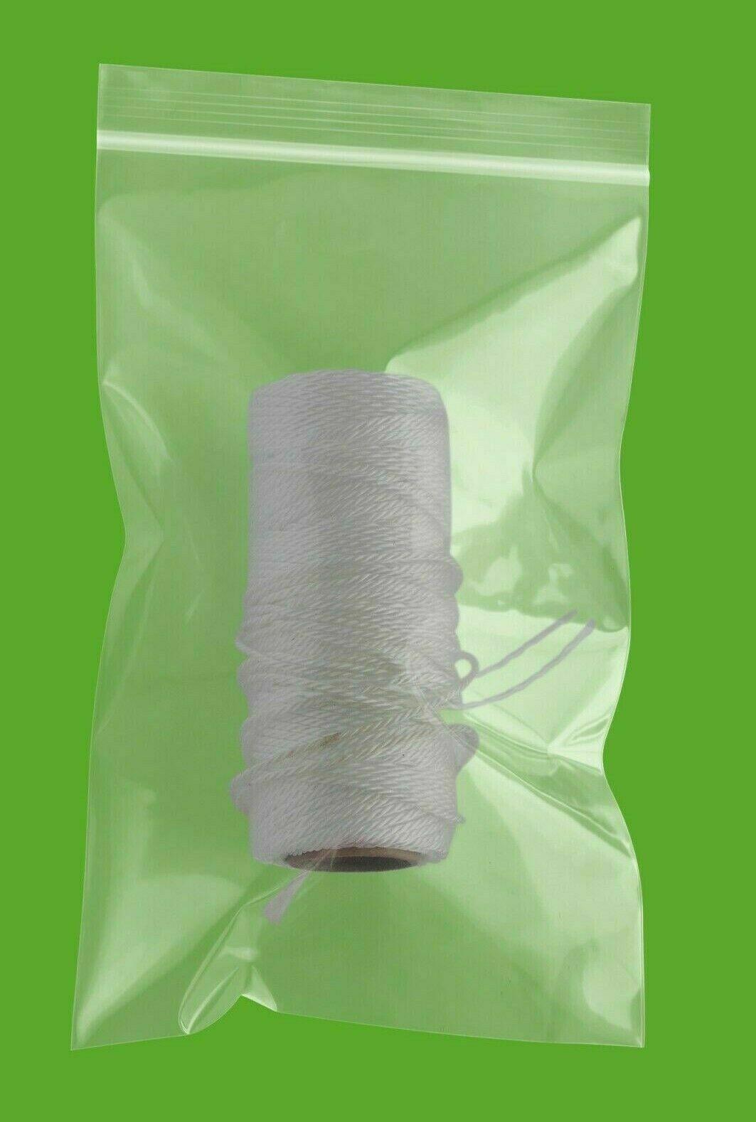 "400 5x9 2MIL Reclosable Clear Ziplock Plastic Bags 5/"" x 9/"""