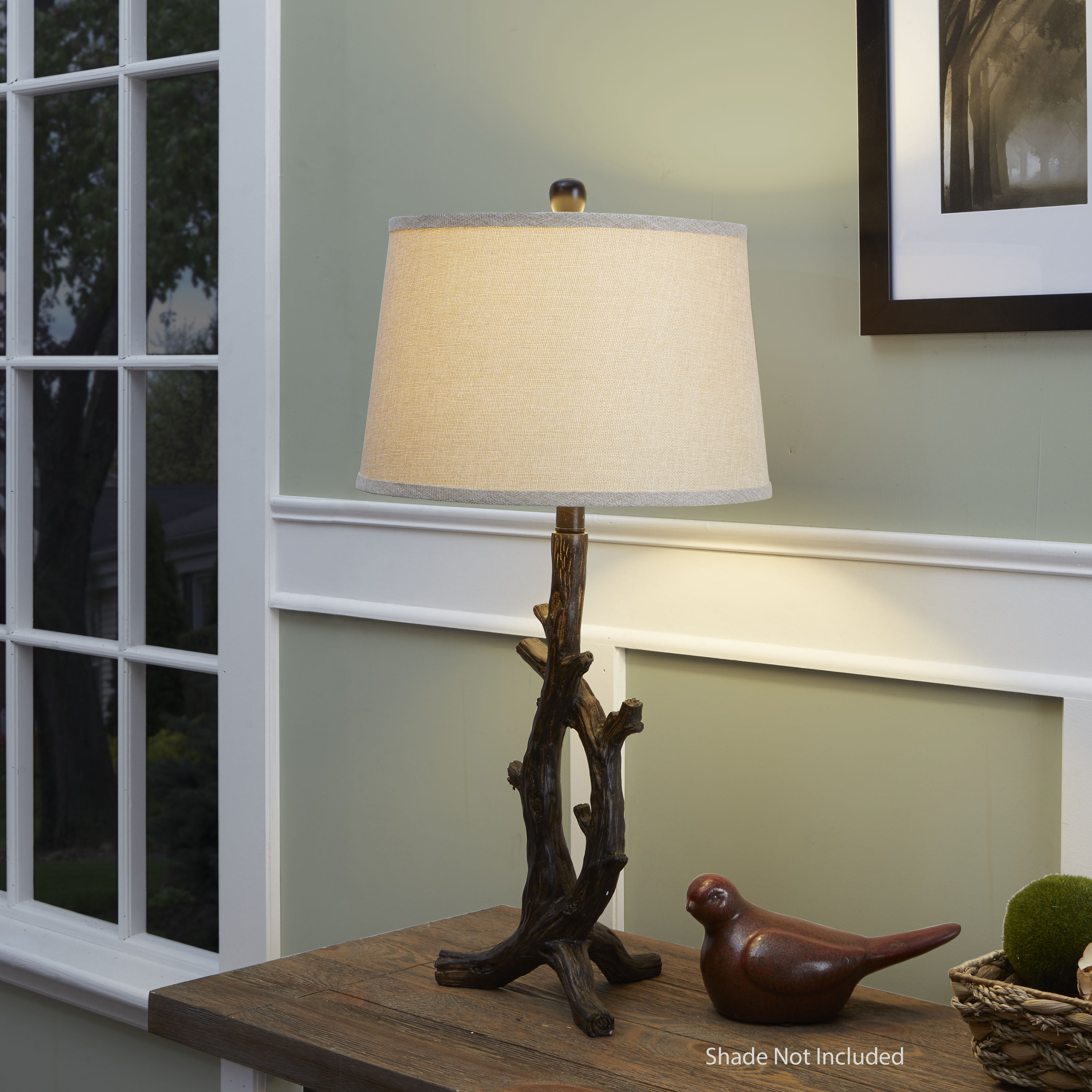Better Homes And Gardens Bronze Branch Lamp Base With Bulb
