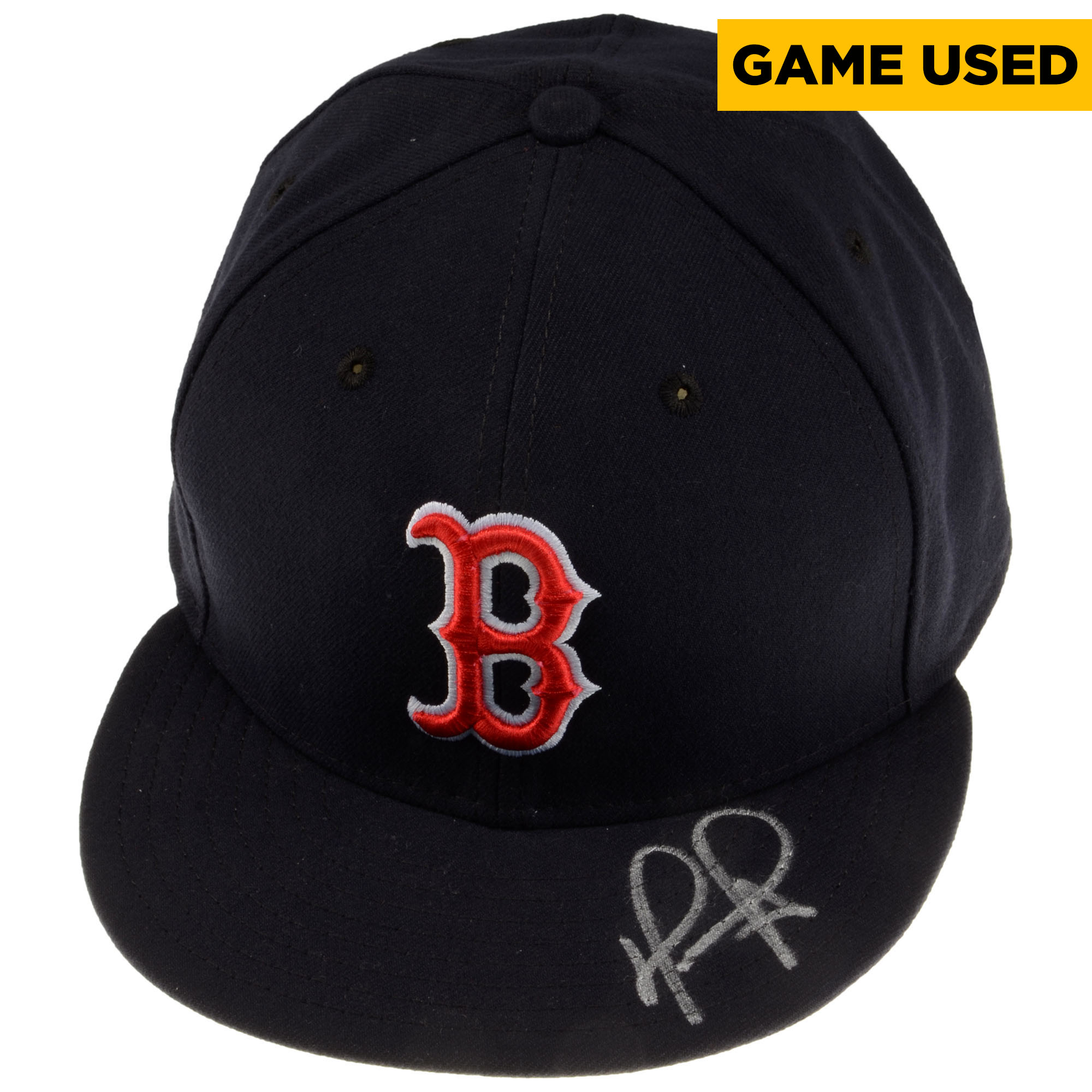 David Ortiz Boston Red Sox Fanatics Authentic Autographed Game-Used 2016 Cap - Actual Cap Will Vary - No Size