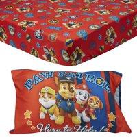 PAW Patrol 2-Piece Toddler Sheet and Pillowcase Set