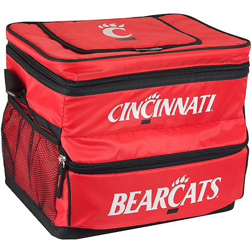 NCAA University Of Cincinatti 18-Can Cooler with Removable Hardliner