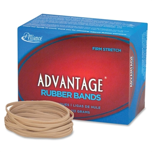 "Advantage Rubber Bands Size 33 1/4lb 3-1/2"" X 1/8"" Natural 26339"