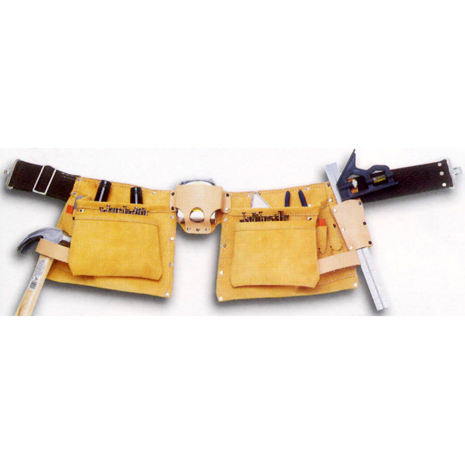 Custom Leathercraft I427X 12-Pocket Heavy-Duty Work Apron