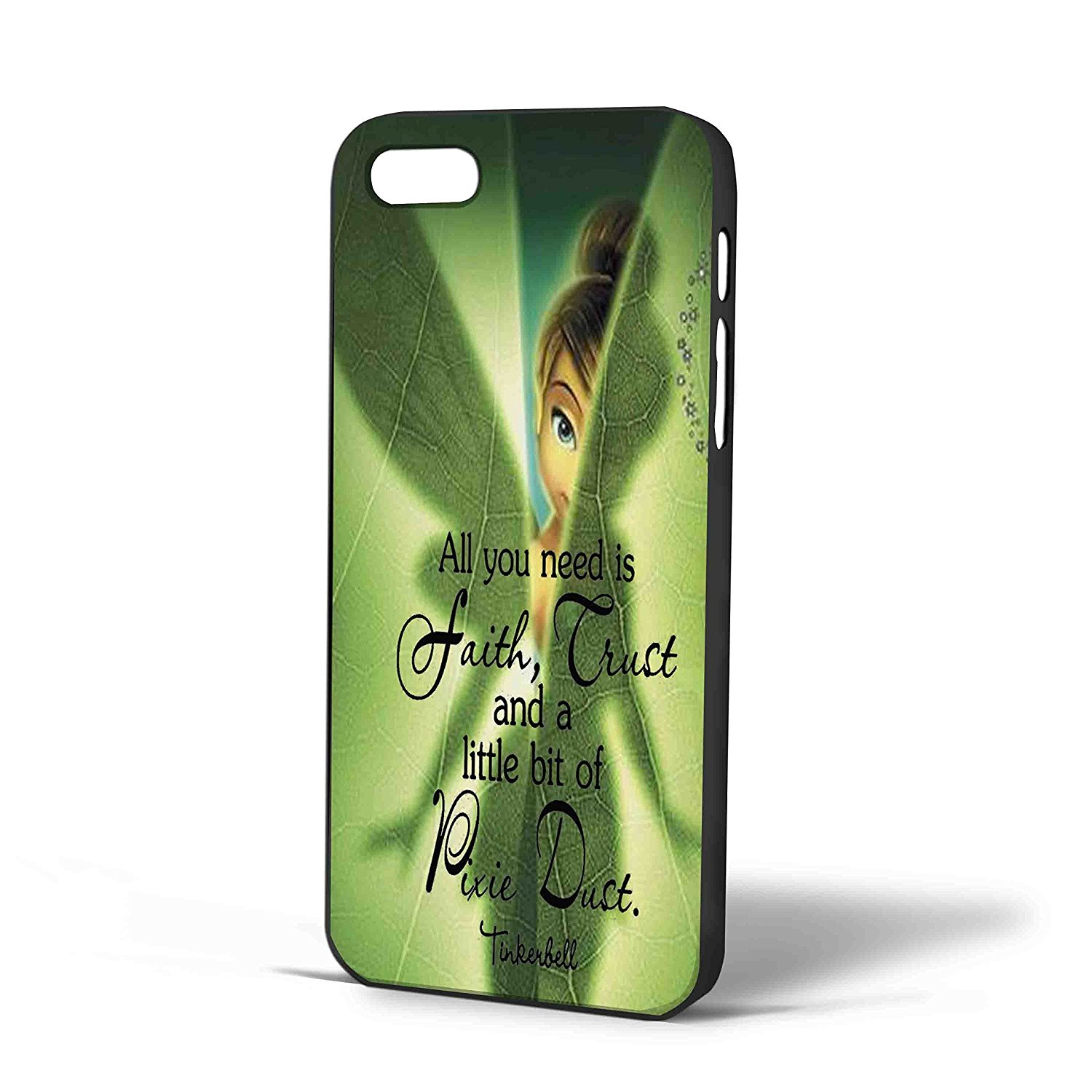 Ganma tinkerbell hide in the leaf Case For iPhone Case ( Case For iPhone 6 plus White)