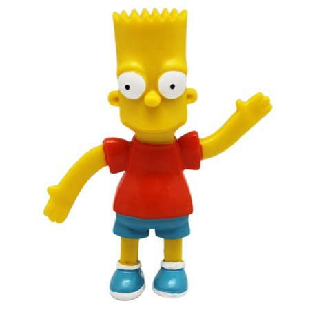 The Simpsons Bart Bendable Figure - Bart Simpson As A Baby